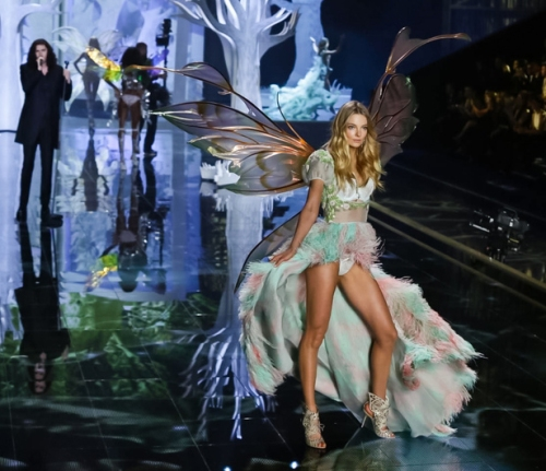 Eniko Mihalik Fairy Wings Victoria's Secret Fashion Show
